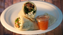 <h5>Italian Vegetable Wrap</h5>