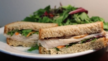 <h5>Health Nut Turkey Breast on Multigrain</h5>
