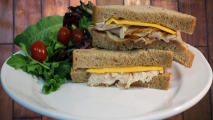 <h5>Turkey and Cheddar on Wheat</h5>