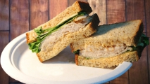 <h5>Turkey Breast and Jack Cheese with Southwest Mayo</h5>