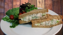 <h5>Chicken Salad on Wheat</h5>