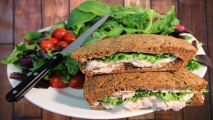 <h5>Artisan Tuna Salad on Wheat</h5>
