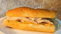 <h5>Big Tex Turkey and Cheddar French Sub</h5>