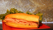 <h5>Big Tex Ham and Cheddar French Sub</h5>