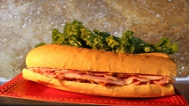 <h5>Pastrami on Soft French</h5>