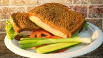 <h5>Artisan Roasted Turkey on Honey Wheat</h5>