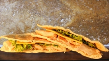 <h5>Turkey and Cheddar Pita</h5>
