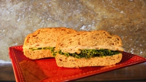 <h5>Turkey on Multigrain Roll</h5>