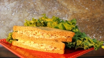 <h5>Tuna Salad on Wheat</h5>