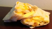 <h5>Vegetarian Breakfast Burrito</h5>