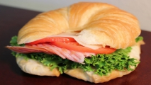 <h5>Ham and Swiss Croissant</h5>