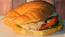 <h5>Turkey and Swiss Croissant</h5>