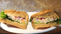 <h5>Health Nut Tuna on Multigrain Roll</h5>