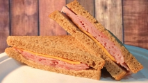 <h5>Ham and Cheddar on Wheat</h5>