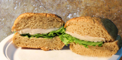 <h5>Chicken on Multigrain Roll</h5>