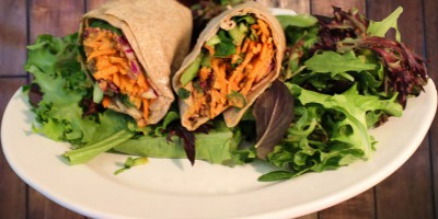 Chipotle Hummus & Vegetable Wrap (1)